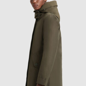 Military Parka lungo 3 in 1 in Eco Ramar